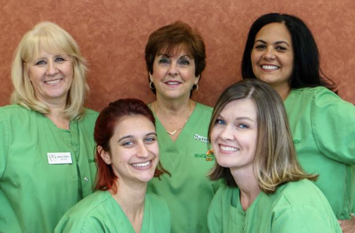 KidZdent Orthodontic Assistants pose for a photo