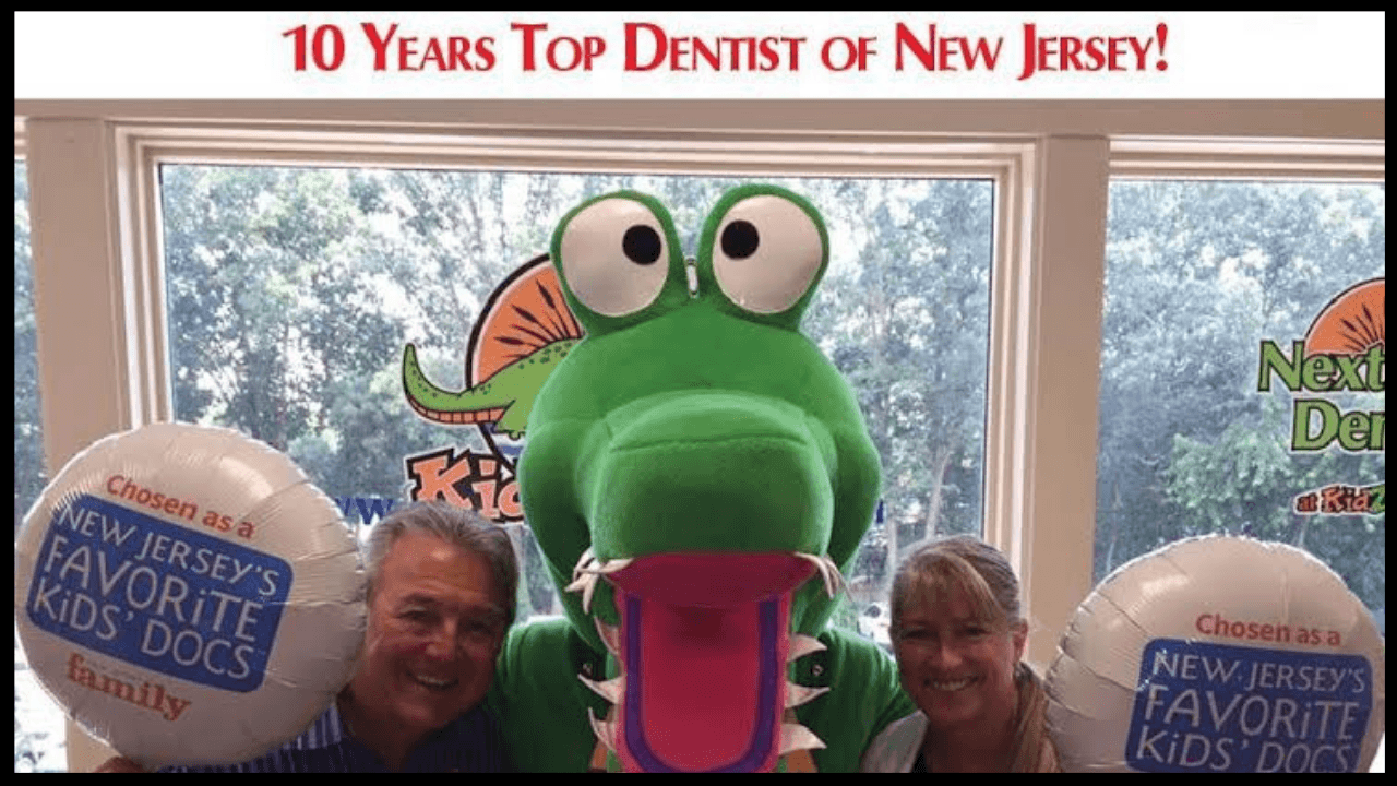 Kidzdent winning the award of 10 years as a top dentist in New Jersey