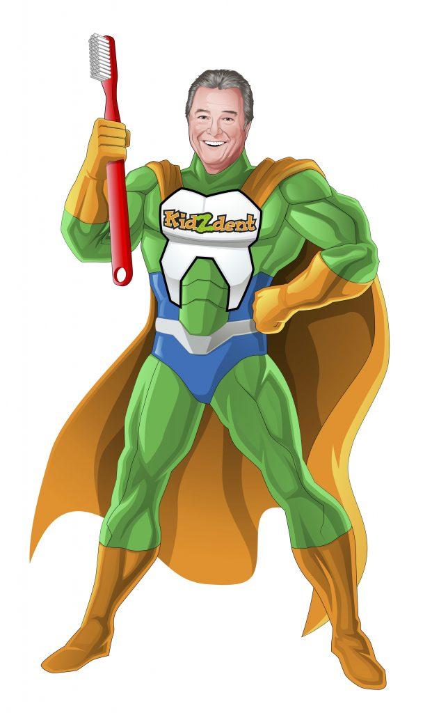 Dr. Cavan Brunsden Superhero