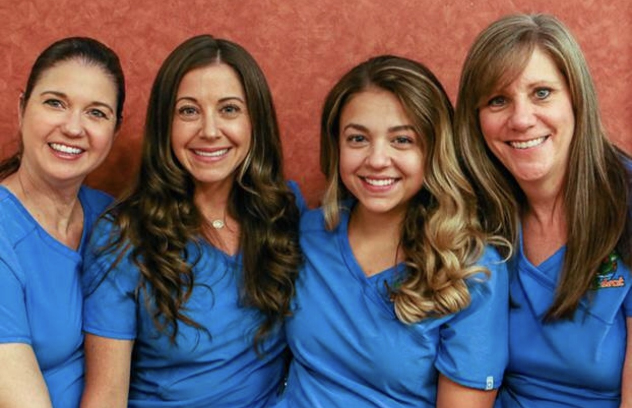 KidZdent Dental Assistants take a photo