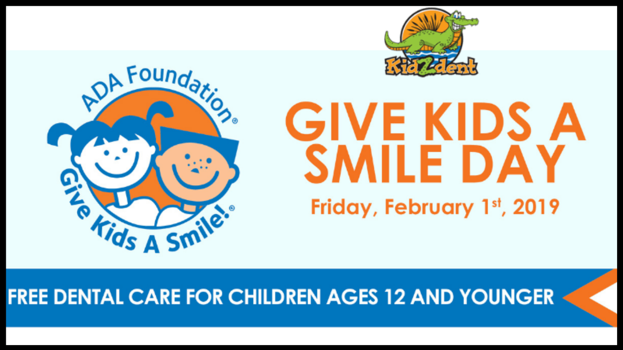 Give Kids A Smile Banner image for Kidzdent