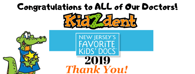 Kidzdent is New Jersey's Top Doctor in 2019 banner
