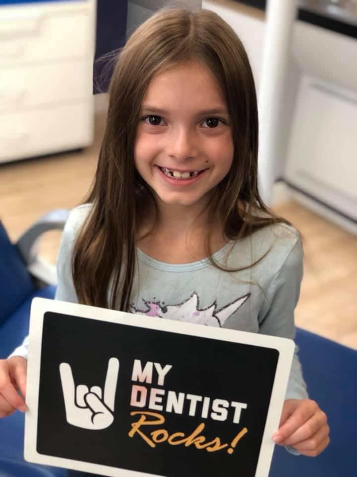 pediatric patient undergoing phase 1 orthodontics at Kidzdent